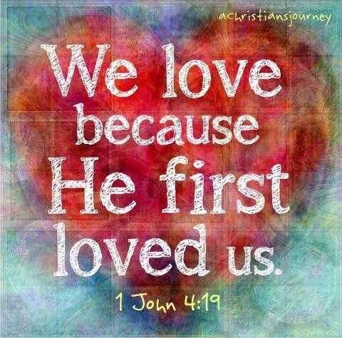 We love because he loved