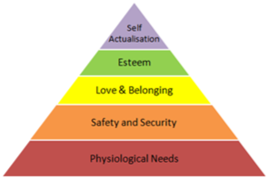 triangle of needs